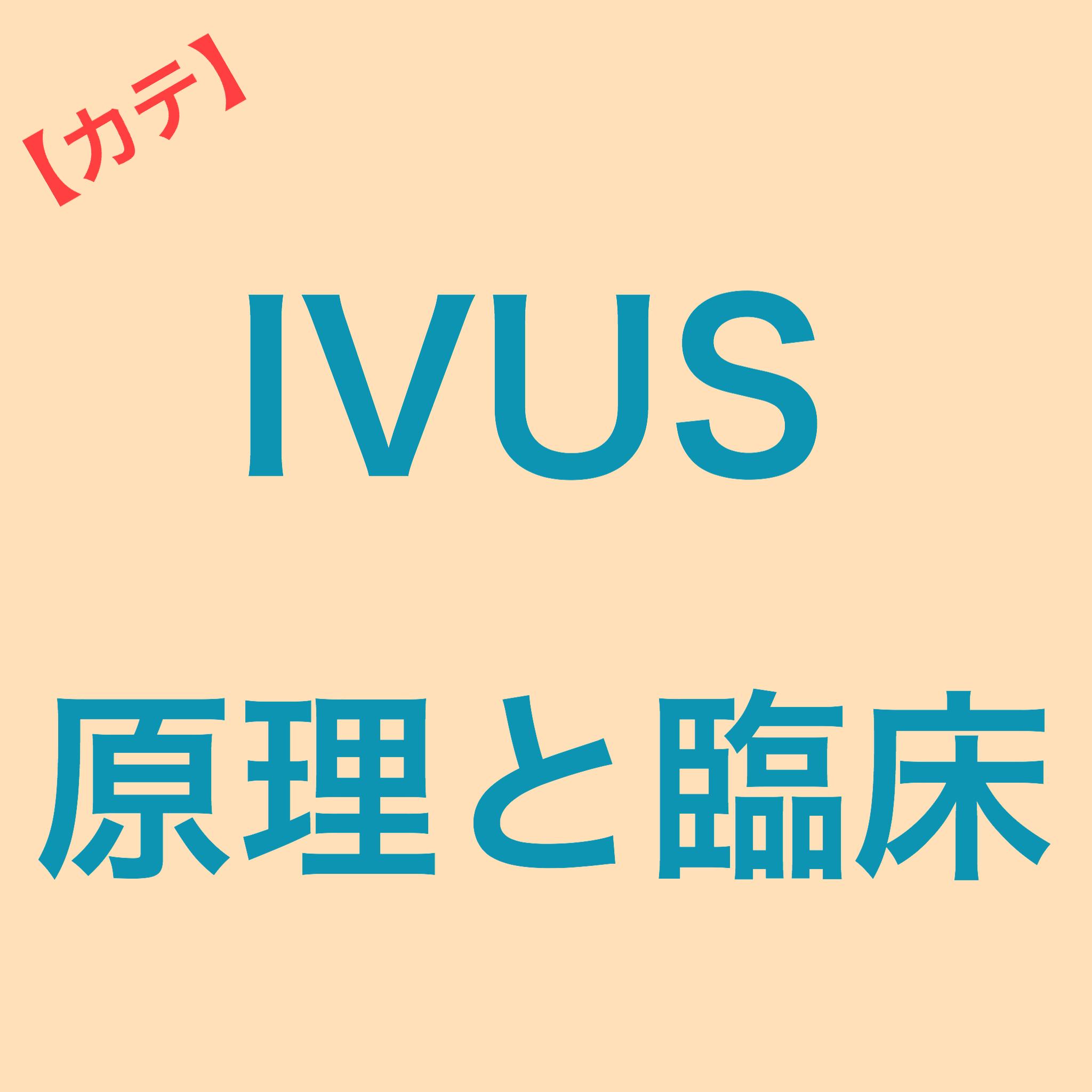 PCIで使用するIVUSの原理と臨床