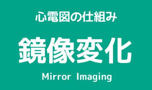 心電図,鏡像変化,ミラーイメージ