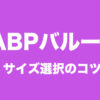 IABP,サイズ